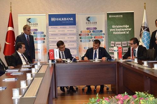 Halk Bankası İle KOBİ Finansmana Kolay Erişimi İçin Protokol İmzalandı