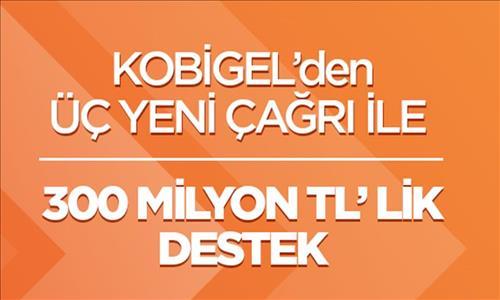 Kobilere Kobigel ile 300 Milyon TL.'lik Destek Daha...