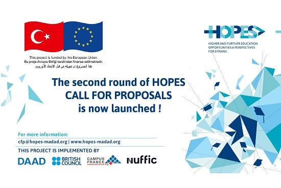 Hopes Proje Teklif Çağrıları Açıldı (TR-ENG)