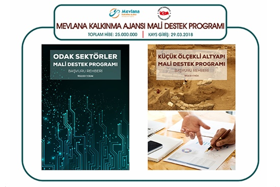 Mevlana Kalkınma Ajansı 2018 Yılı Hibe Programı Yayınlandı