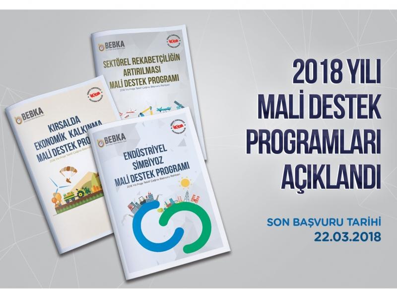 Bebka 2018 Yılı Mali Destek Programlarını Duyurdu