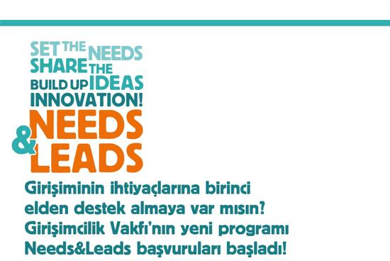 Girişimcilik Vakfı Needs&Leads Programı Başlıyor