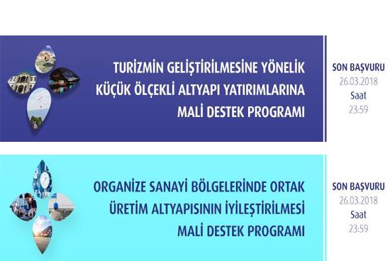 Orta Karadeniz Kalkınma Ajansı OKA 2018 Yılı Mali Destek Programları