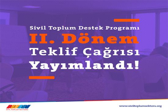 Sivil Toplum Destek Programı Türkiye'deki STK'ları kapasitelerini geliştirmeye çağırıyor.