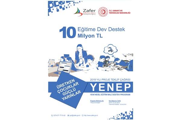 Zafer Kalkınma Ajansı Yeni Nesil Eğitim Mali Destek Programı (YENEP)