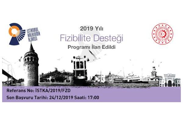 İstanbul Kalkınma Ajansı 2019 Yılı Fizibilite Desteği Programı