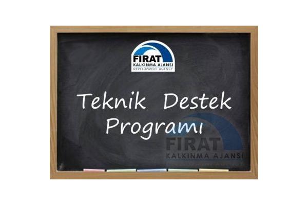 Fırat Kalkınma Ajansı 2019 Yılı Teknik Destek Programı