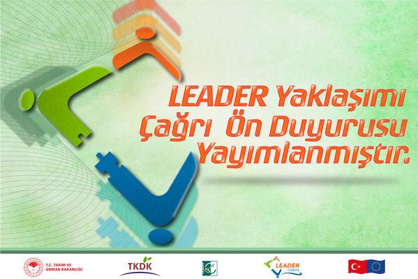"""IPARD Kapsamında """"Leader Yaklaşımı Tedbiri"""" Ön Çağrı Duyurusu"""