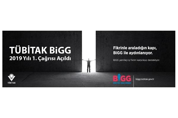 Tübitak BiGG 2019 Yılı 1. Çağrısı Açıldı