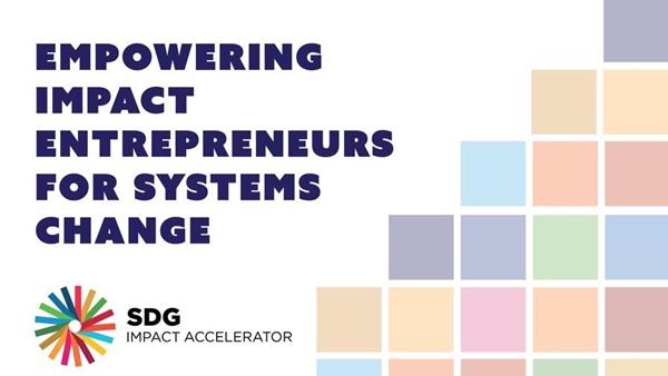 SDG Impact Accelerator Girişimi Başvuruları Açıldı