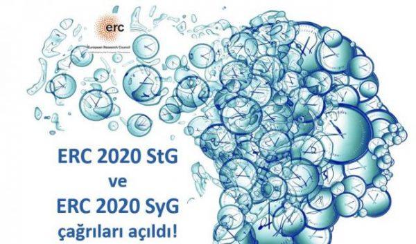 ERC 2020 Starting Grant ve Synergy Grant Çağrıları Açıldı