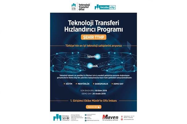 Şehir Teknoloji Transferi Hızlandırıcı Programı Başvuruları Başladı