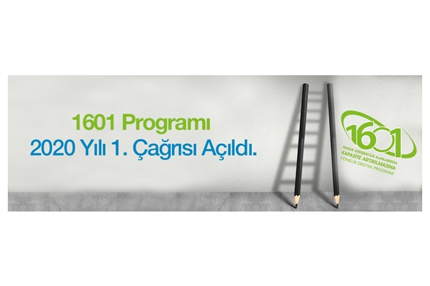 TÜBİTAK 1601 Programı 2020 Yılı 1. Çağrısı