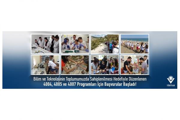 Bilim ve Toplum Destekleme Programları